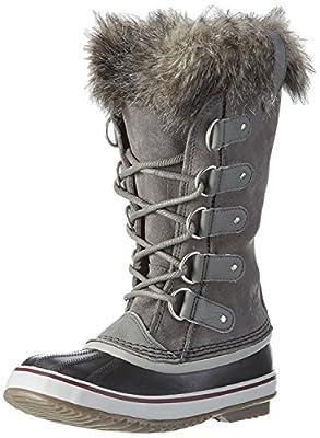 SOREL Women's Joan of Arctic Boot (5.5 B(M) US / 36-37 EUR, Quarry/Black)