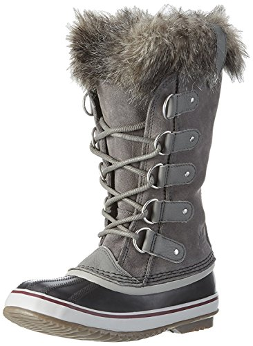 Sorel Womens Joan Of Arctic Boot (6.5 B (m) Us / 37-38, Quarry / Black)