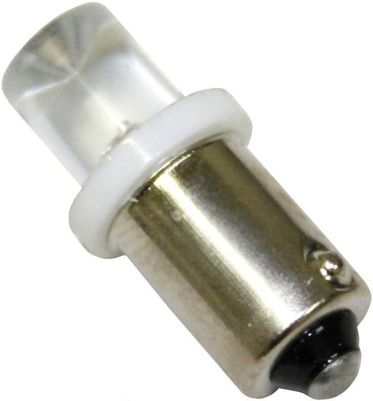 Aerzetix Set di 2 lampadine 24V T4W LED bianco.