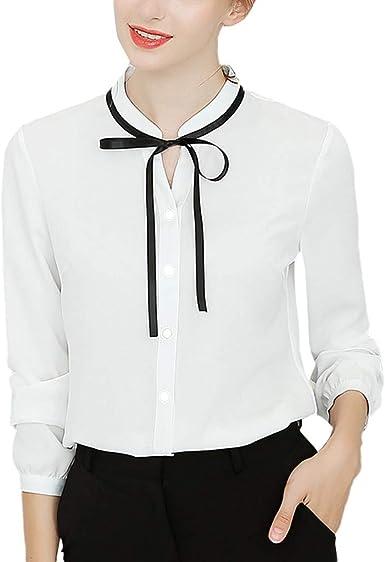 Vectry Blusas con Volantes De Mujer Camisetas Originales ...