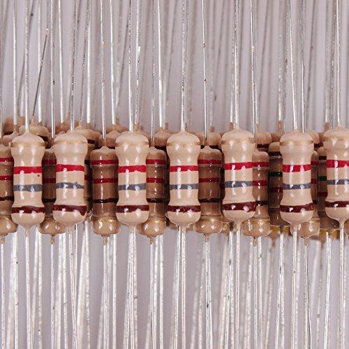 Teenitor-1000pcs-100-Values-1R-10M-12W-Metal-Film-Resistors-Assortment-Kit-Assorted-Set
