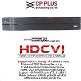 CP Plus Coral HDCVI 8 Channel HD DVR (Black)