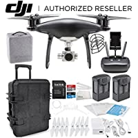DJI Phantom 4 PRO Obsidian Edition Drone Quadcopter (Black) Travel Case Essential Bundle