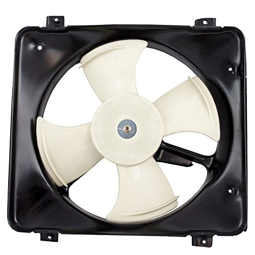 AC A/C Condenser Cooling Fan Assembly Replacement for 96-00 Honda Civic 19015-P08-013 - A/c Honda Condenser Fan