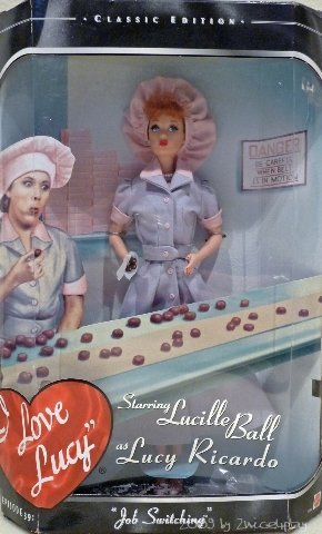Barbie I Love Lucy Job Switching Doll Classic Edition for sale  Delivered anywhere in USA