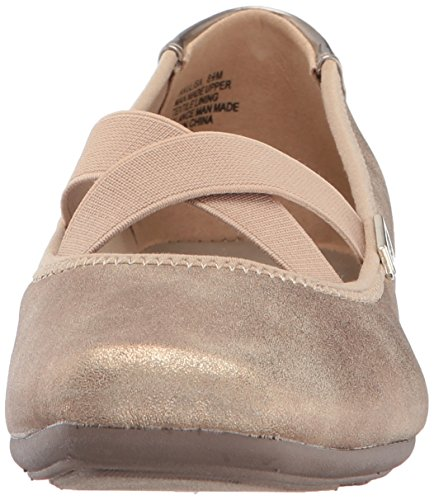 Women's Synthetic Ulisa Klein Gold Flat Anne Ballet Light vwqx6nt