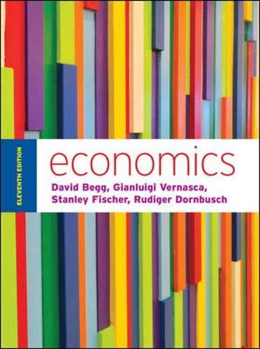 Economics by Begg and Vernasca (UK Higher Education Business Economics)