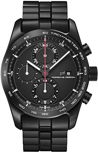 Porsche Design Chronotimer Series 1 Automatic Watch, Shot Blasted Titanium