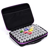 Fundaful 60 Slots Diamond Painting Storage Case