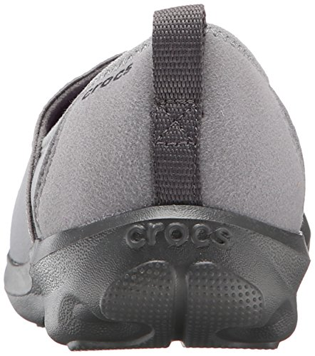 Crocs Duet Busy Day 2.0 Satya A-Line, Chaussons Sneaker - Femme Gris (Smoke/Graphite)