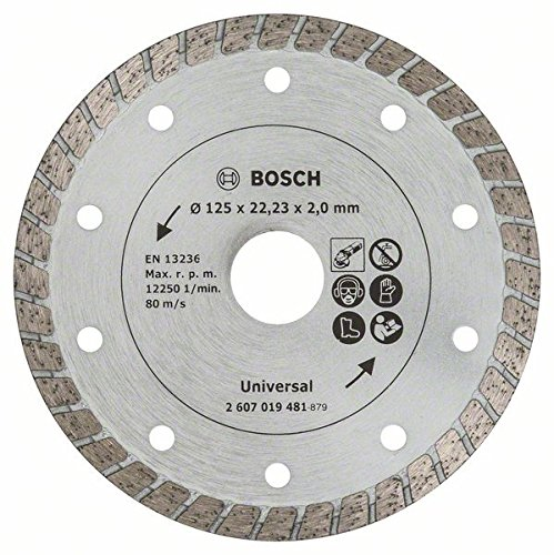 18 opinioni per Bosch 2607019481 Disco Diamantato Turbo, 125 mm