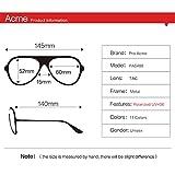 Pro Acme Oversized Aviator Sunglasses for Men Women