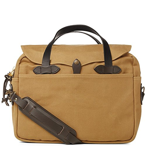 Original Marrone briefcase Tan FILSON 256 nqwfdgvgBX
