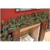 200cm Christmas Garland con frutti di bosco