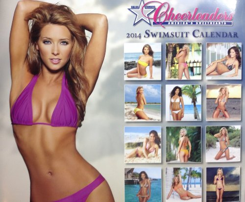 2014 DALLAS COWBOYS CHEERLEADERS SWIMSUIT POSTER Wall - Swimsuits Dallas