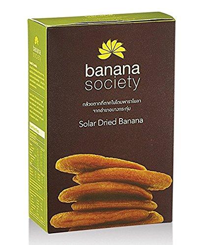 Wholesale Pack of 8 Banana Society, Solar Dried Banana from Thailand 450g. Best Selected Thai Banana Bulk Price by Banana Society (Image #2)