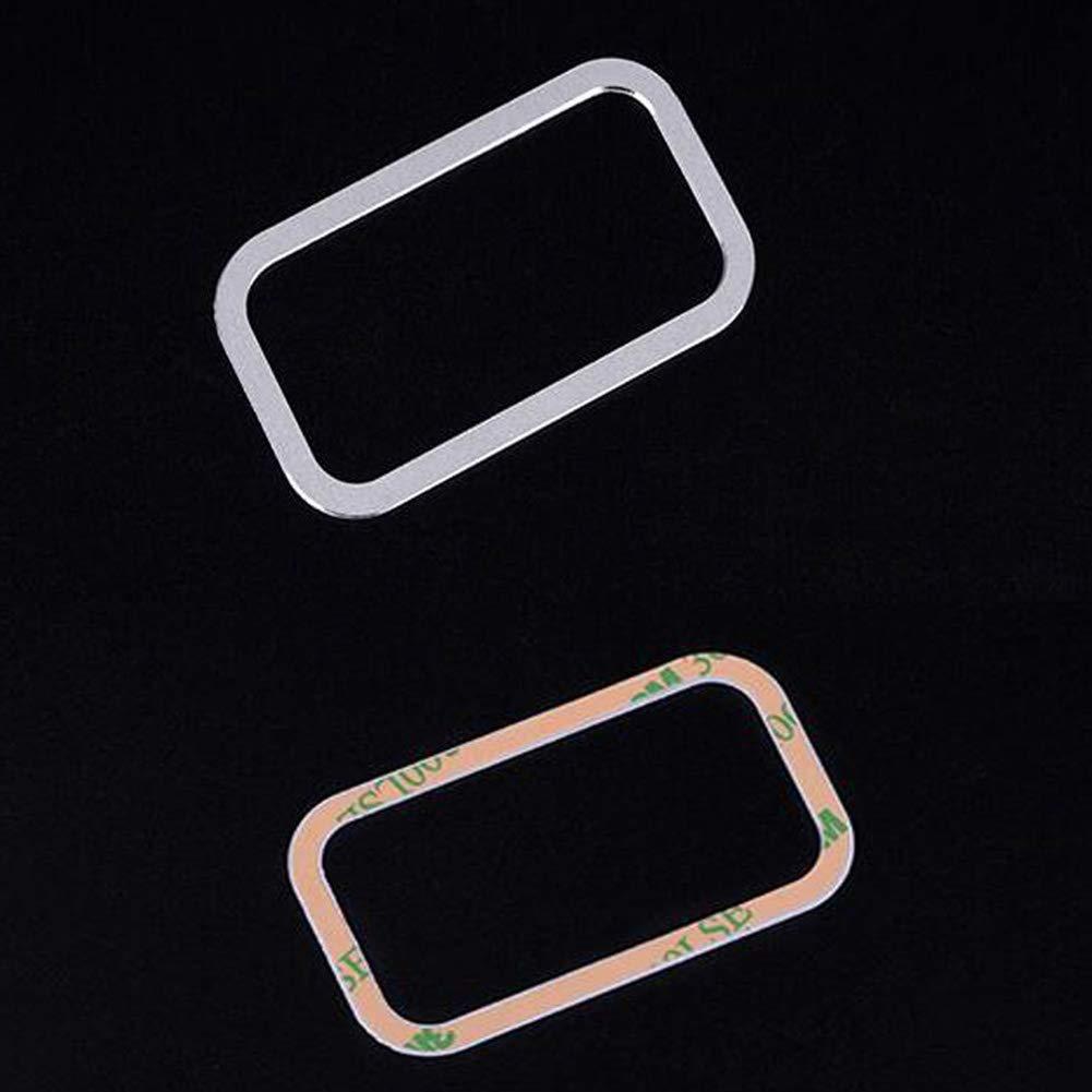 pour Classe E GLA GLC GLK CLS ML GL GLE GLS Aluminium Auto Voiture É lectrique Tail Porte Bouton Cadre Garniture Styling Fiberautob