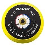 Neiko 30623un lijado Pads 6-inch Face gancho y bucle de velcro para Random Orbital Sanders,...