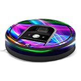 MightySkins Skin for iRobot Roomba 960 Robot Vacuum - Light Waves | Protective, Durable, and Unique Vinyl Decal wrap Cover | Easy to Apply, Remove, and Change Styles | Made in The USA