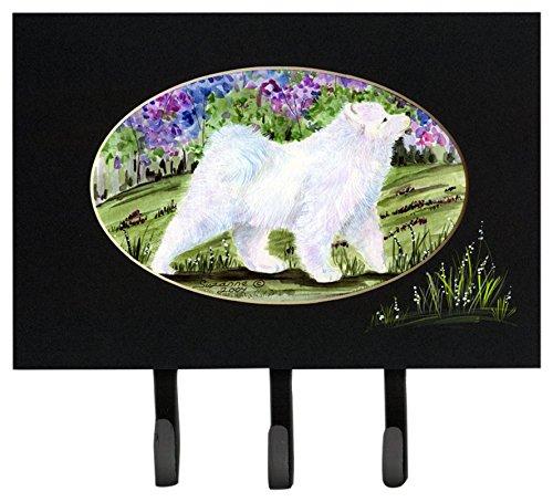 Large Carolines Treasures SS8059TH68 Samoyed Leash Holder or Key Hook Multicolor