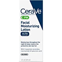 Facial Moisturizing Lotion | Night Cream with Hyaluronic Acid and Niacinamide | Ultra-Lightweight, Oil-Free Moisturizer…
