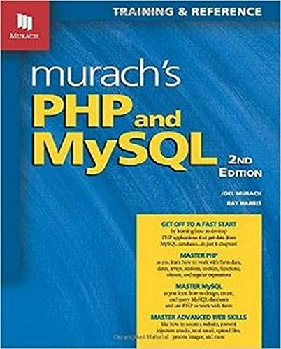 Murach's PHP and MySQL, 2nd Edition by Mike Murach Associates