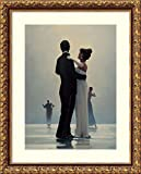 Framed Art Print 'Dance Me to the End of Love' by Jack Vettriano: Outer Size 16 x 20