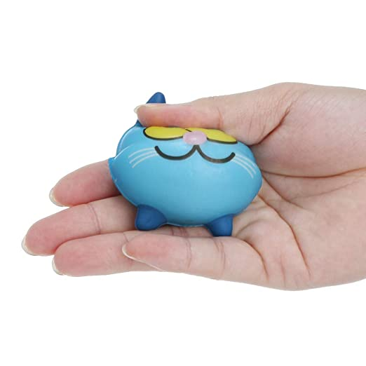 Amazon.com: Reusable Keychain Decompression Toy Cartoon Toy Smash Various Styles Pet Toy Brain Game: Clothing