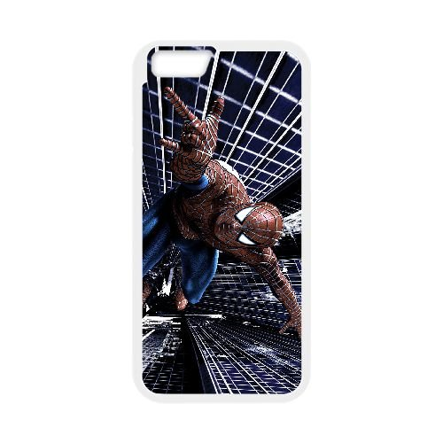 Pictures Of Spiderman 017 coque iPhone 6 4.7 Inch Housse Blanc téléphone portable couverture de cas coque EEEXLKNBC18497