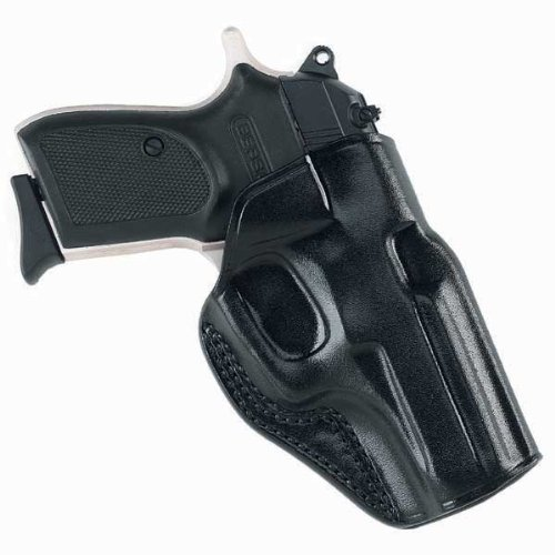 Galco Pancake Holster - Galco Stinger Belt Holster for Ruger LCP, KelTec P3AT, P32 (Black, Right-Hand)