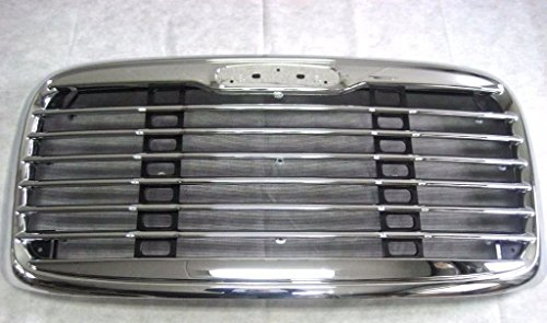 XS-Power Freightliner Columbia Freight Liner Grill Grille Chrome 02 03 04 05 06 07 08 09+