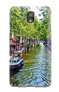 Hot FuievgN5021twHpz Amsterdam City Tpu Case Cover Compatible With Galaxy Note 3