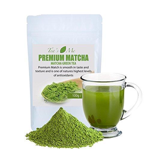Premium Matcha Green Tea Powder (100g)- Organic Japanese Matcha Tea- Increase Metabolism- Energy Review