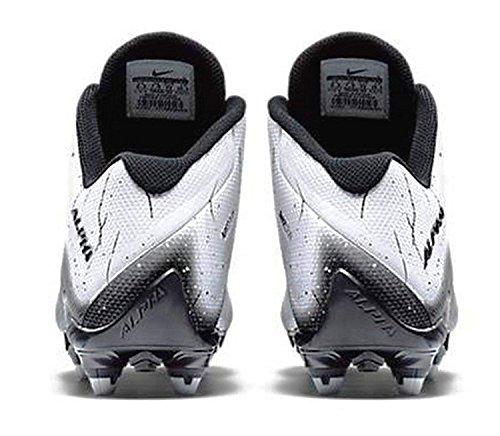 Cleats Alpha White NIKE black 2D Black Mens Pro Football fnwq16