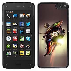 LECELL--Funda protectora / Cubierta / Piel For Amazon Fire Phone -- Resumen Vinilo --