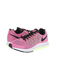 Nike Womens Air Zoom Pegasus 32 Pink Pow/Barely Volt/Ghost Green/Black Sneak...