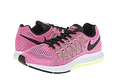 90d5428e33ce4 ... get nike womens air zoom pegasus 32 pink pow barely volt ghost green  black 97d4d fc93d