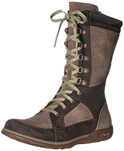 Lodge Boot Waterproof Fossil Women's Chaco Hiking BwqFWx8n5