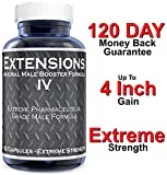 Extensions IV™ Testosterone Enlargement Booster Increases Energy, Mood & Endurance - All Natural