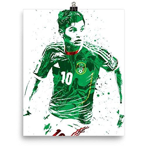 Jesus Corona Mexico Futbol Soccer Poster by PixArtsy
