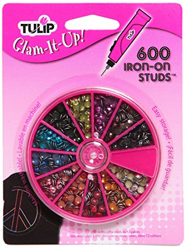 Tulip Glam-It-Up Iron-On Studs, 600-Pack, 12-Millimeter, for sale  Delivered anywhere in USA