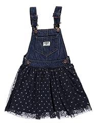 """OshKosh Little Girls' Toddler """"Denim Dream"""" Overall Skirt"""