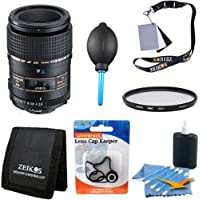 Tamron 90mm F/2.8 DI SP AF Macro 1:1 Lens Kit For Canon EOS