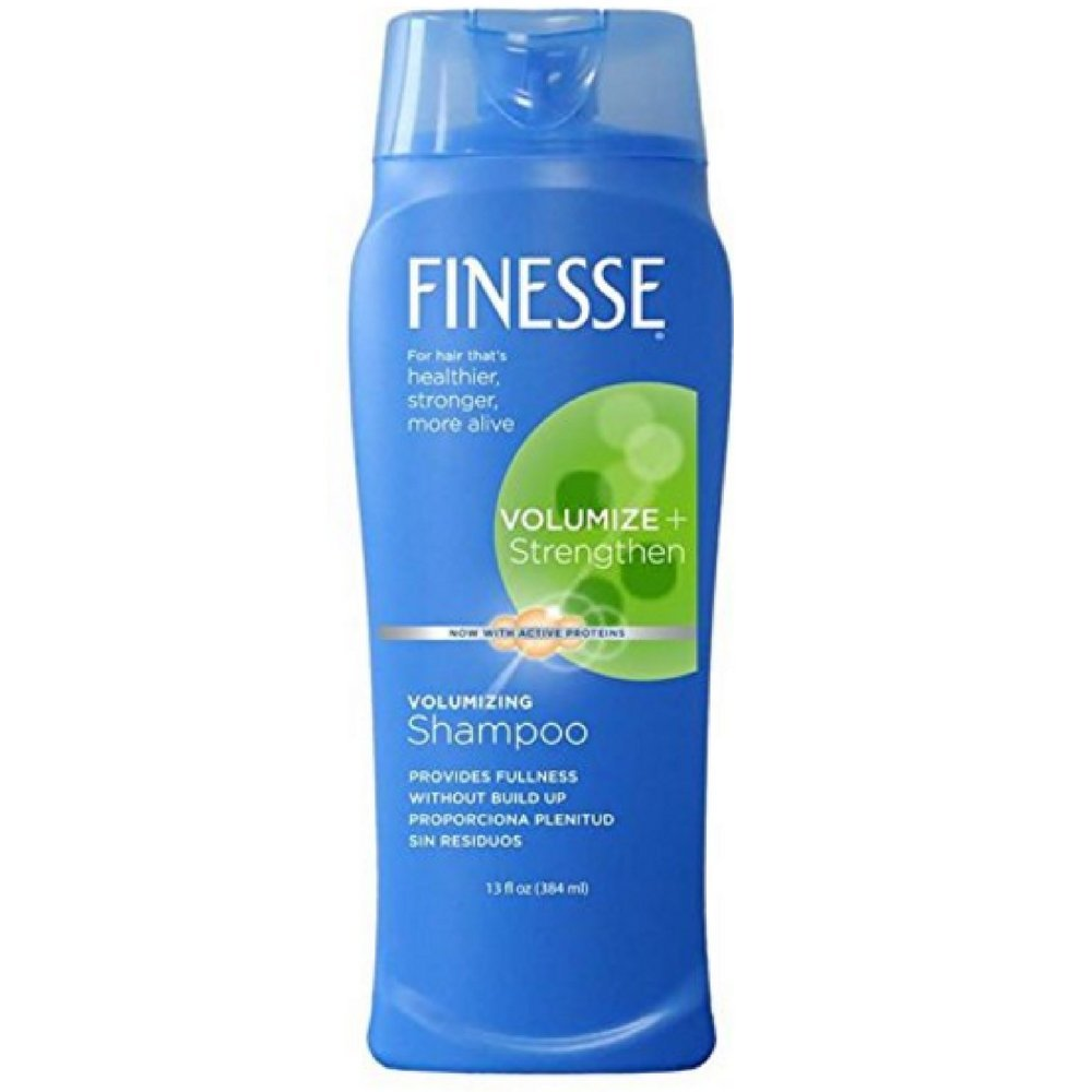 Finesse Volumize + Strengthen, Volumizing Shampoo 13 oz (Pack of 10) by Finesse