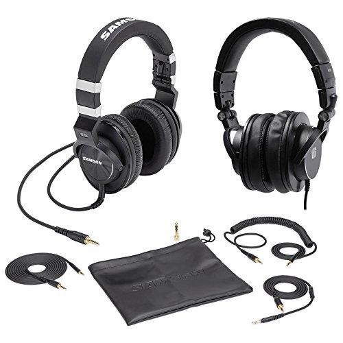 - Samson Z-55 Studio Headphones, Closed-Back w/Lambskin Pads + Presonus Headphones