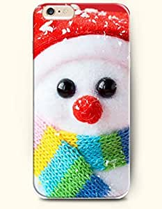 OOFIT iPhone 6 Case ( 4.7 Inches ) - Lovely cute Little Snowman