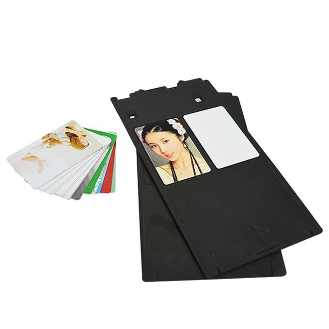 Plástico PVC tarjeta de identificación bandeja para Canon G ...