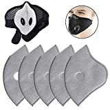 Yvetti 5/10/20 Pcs PM2.5 Face Mask Pad, Face Mask Replacement Pad, Inner Pad, Mask Filter, Dust Proof Anti Haze Replacement Filter Pads for Face Mask