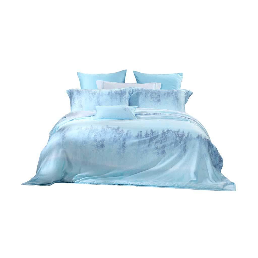 寝具セットホームテキスタイルテンセル印刷4ピース消えが容易ではない (サイズ さいず : L l) B07NKZ7QPV  L l
