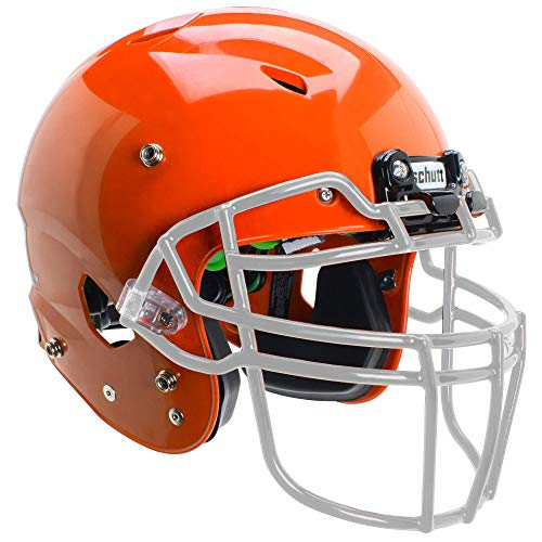 Schutt Sports Vengeance A3 Youth Football Helmet (Facemask NOT Included), Burnt Orange, X-Small